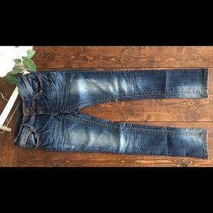 Inwear Acid Wash Skinny Jeans, 32
